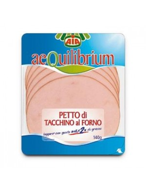 PETTO TACCHINO AEQUIL. 140 GR
