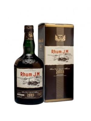 RHUM J.M VIEUX 2003 ML.700