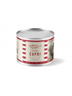 TONNO CAPRI LATTA GR.1.730 OLIO OLIVA