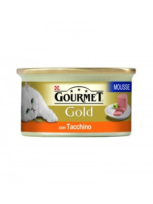 GOURMET GOLD MOUSSE C/TACCHINO