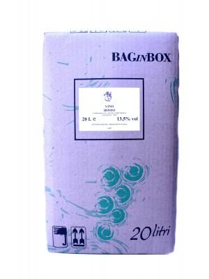 VINO ROSSO LT.20 BAG IN BOX DOP IGT MONTORI