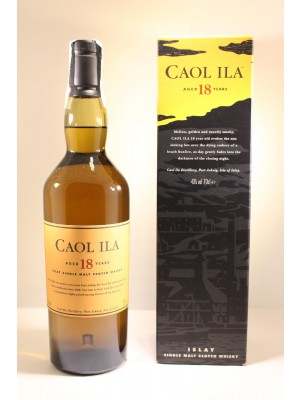 WHISKY CAOL ILA 18 YEARS