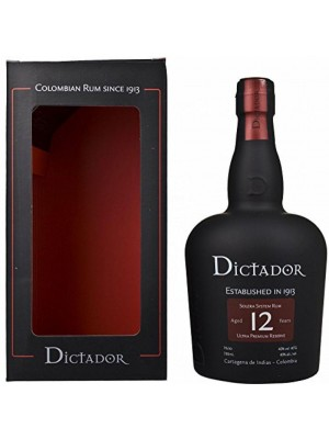 DICTADOR RUM 12 ANNI CL.70 AST. COLOMBIA